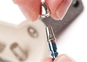 Bridges and Crowns cemented on the Standard Abutments