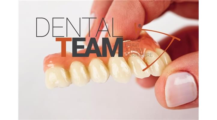 Toronto implant Bridge in cromo cobalto e ceramica definitiva